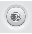 Flat Digital Wallet Secure Transaction concept vector image vector image
