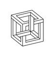 impossible shapes optical vector image