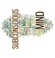 Power your subconscious mind text