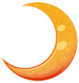A moon vector image vector image
