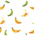 banana friut icon seamless pattern vector image
