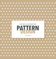 Brown polka background design