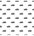 electric car pattern seamless vector image