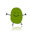 kiwi cute character for your design vector image vector image