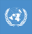 logo of United Nations vector image vector image