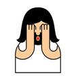oh my god jesus emotion omg christos emoji vector image vector image