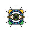 one eye sign symbol logo logotype