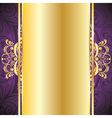 Purple Decorative Background vector image vector image