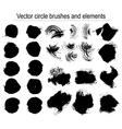 Set of grunge background vector image vector image