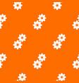 gear pattern seamless vector image