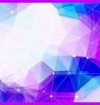 polygonal background and copy space abstract vector image