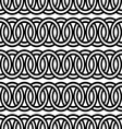seamless circle Chain pattern background vector image vector image