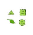 set 100 healthy label and emblem logo designs vector image vector image