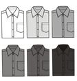 Shirts vector image vector image