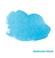 Watercolor Cloud for Your Design vector image vector image