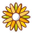 honey plant icon cartoon style vector image