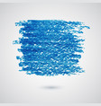 abstract background with blue felt-tip pen vector image
