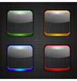 App buttons set vector image vector image