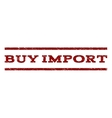 Buy Import Watermark Stamp vector image vector image