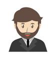 lawyer icon image vector image