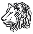 Lion head tribal tattoo vector | Price: 1 Credit (USD $1)