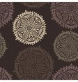 Retro background lace seamless pattern vector image
