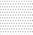 Black and white dots hand drawn simple geometric vector image