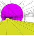 modern interior image vector image