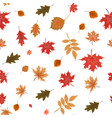 abstract autumn seamless pattern background with vector image