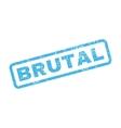 Brutal Rubber Stamp vector image vector image