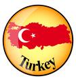 button Turkey vector image