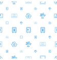 deposit icons pattern seamless white background vector image vector image