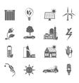 Eco Energy Icon vector image