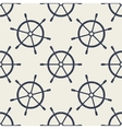 Seamless pattern with hand drawn steering wheels vector image vector image