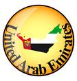 button United Arab Emirates vector image