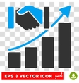 Acquisition Growth Eps Icon vector image vector image