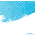 Blue Abstract Watercolor Paint Splashes vector image vector image