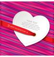 greeting cardgift cardbeautiful card vector image vector image