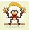Monkey2 vector image