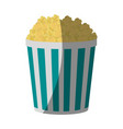 popcorn bucket icon image vector image vector image