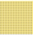 seamless yellow simple grid pattern vector image vector image