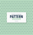 simple polka dots pattern background vector image vector image
