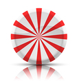 Striped Round Candy vector image vector image