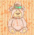 Teddy Hat vector image vector image