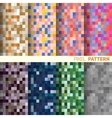 The pixel pattern vector image vector image
