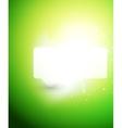 Bright color shiny speech bubble template vector image vector image