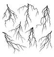 lightning vector image
