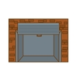 open garage door icon image vector image