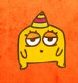 Party Alien Cartoon vector image vector image