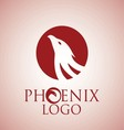 phoenix logo 4 vector image vector image